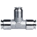 SPOC SS Union Tee Reducer Push in Fitting
