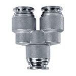 SPW SS Y Reducer Push in Fitting